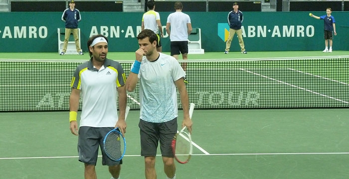 Marcos & Dimitrov Bow Out of Doubles