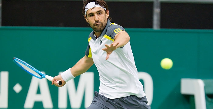 Marcos Beats Gasquet For QF Spot