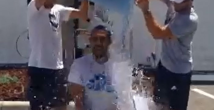 Marcos Does #ALSIceBucketChallenge