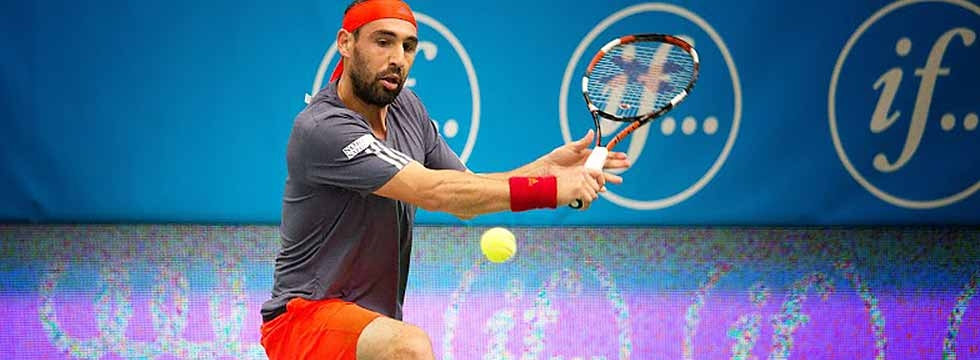 Marcos Topples Tomic In Stockholm