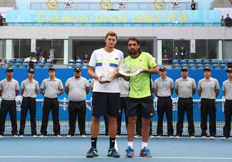 Back Injury Stops Marcos In Chengdu Final