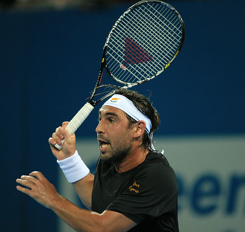 Marcos Faces Tipsarevic In LA Quarters